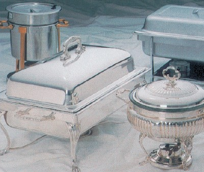 Chafing Dishes Stainless Steel Chafers Food Pans Hotz Catering And Rental