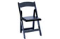 White or Black Wood Folding Chair