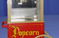 Popcorn Cart with Machine - Small  or Large