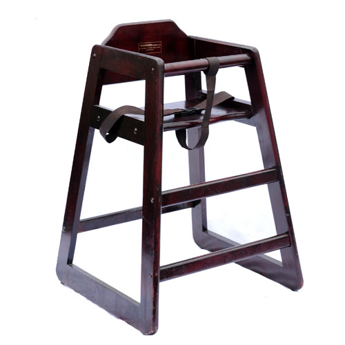 High Chair Wood Stacking